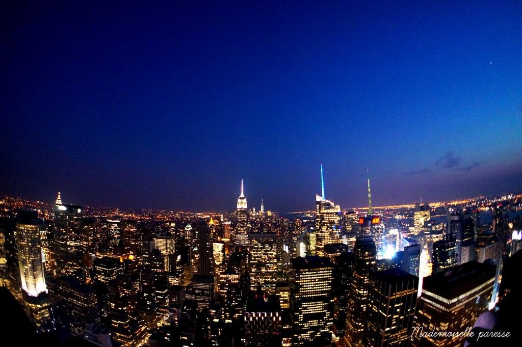 18 - Mademoiselle paresse - Top of the Rock Sunset