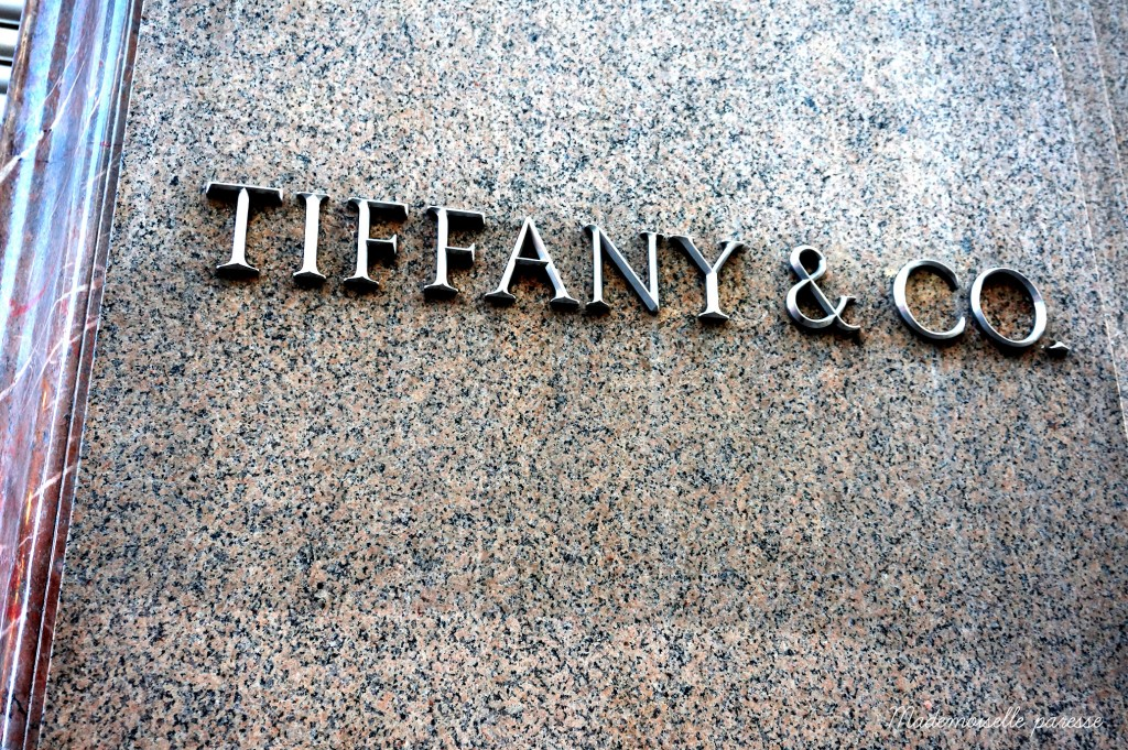 22 - Mademoiselle paresse - 5th avenue Tiffany
