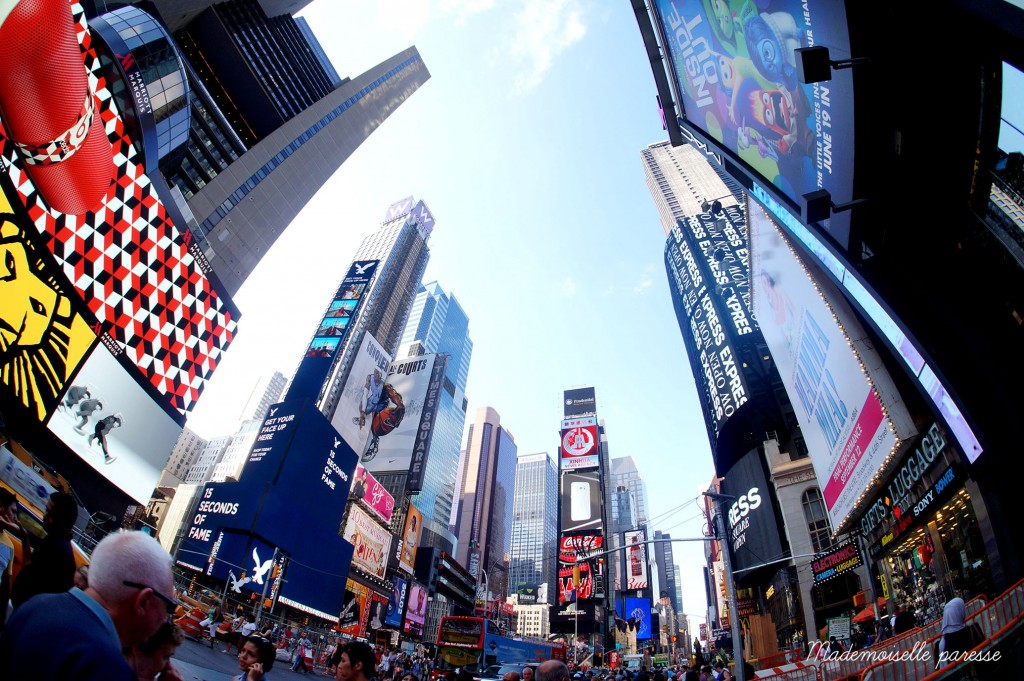 5 - Mademoiselle paresse - Time Square