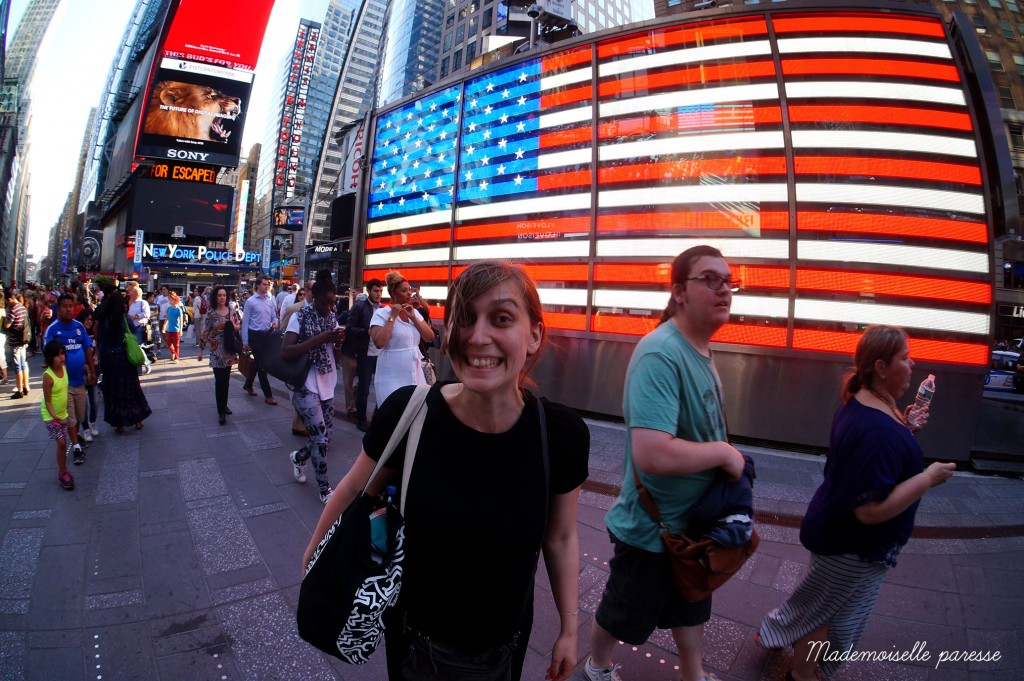 6 - Mademoiselle paresse - Time Square