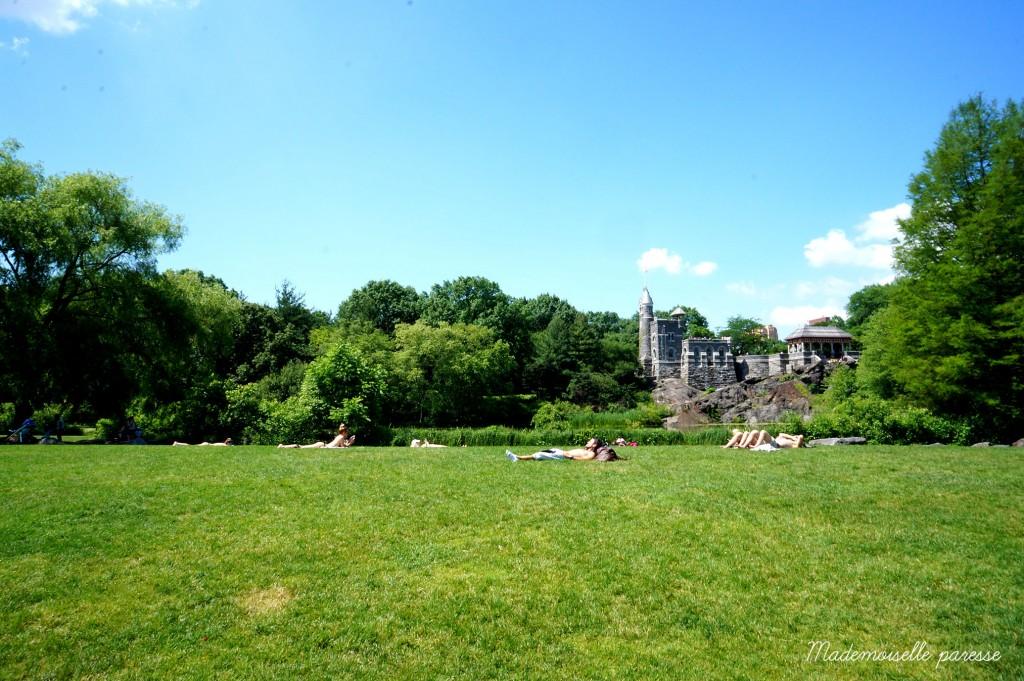 9 - Mademoiselle paresse - Central Park