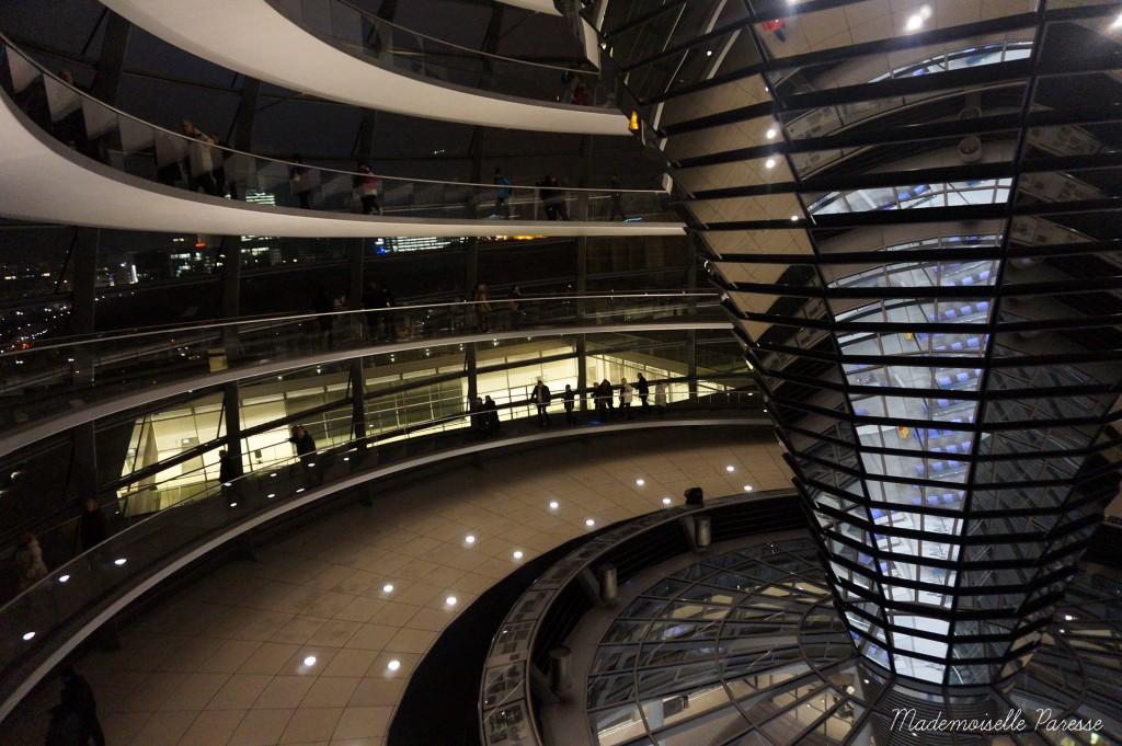 Mademoiselle Paresse Berlin Reichstag 2