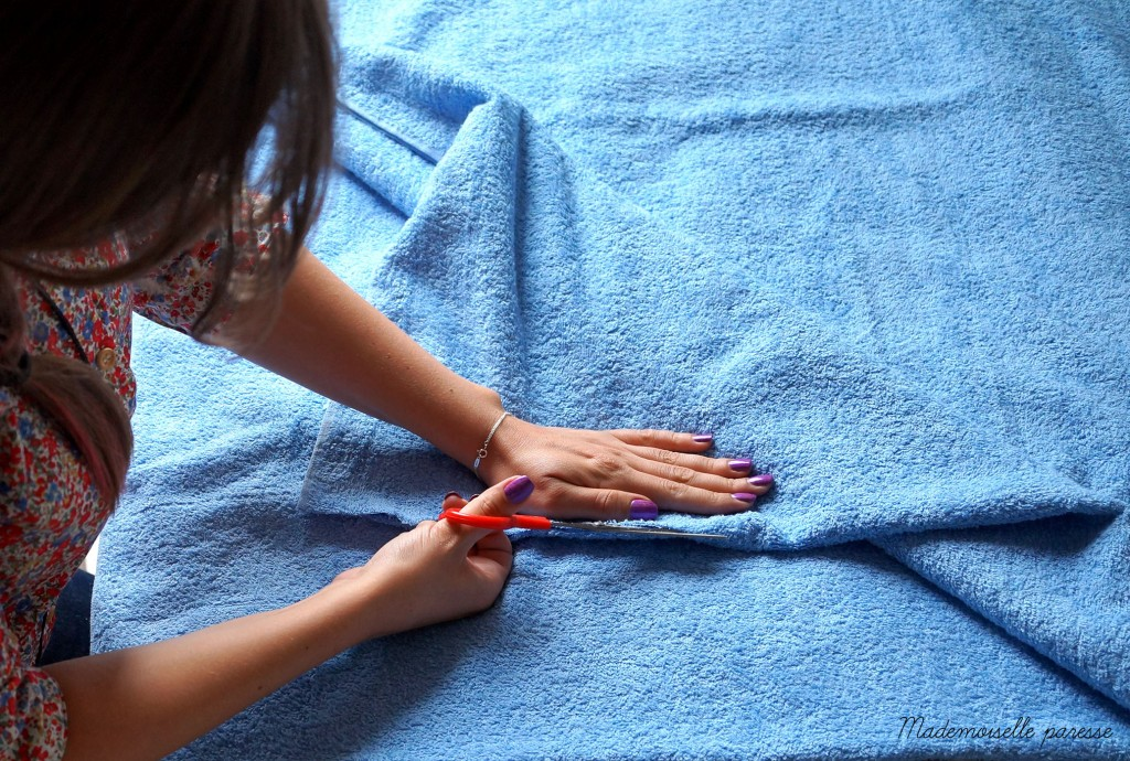 Mademoiselle paresse DIY Towely Servietsky 2