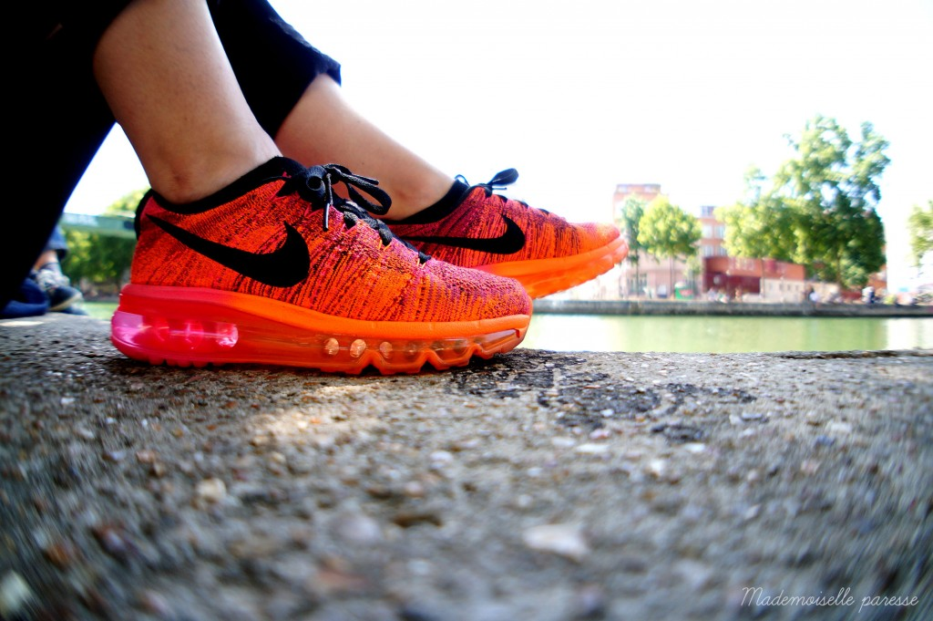 Mademoiselle paresse - Nike Flyknit Airmax 3