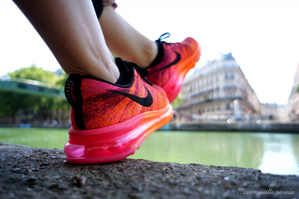 Mademoiselle paresse - Nike Flyknit Airmax 4