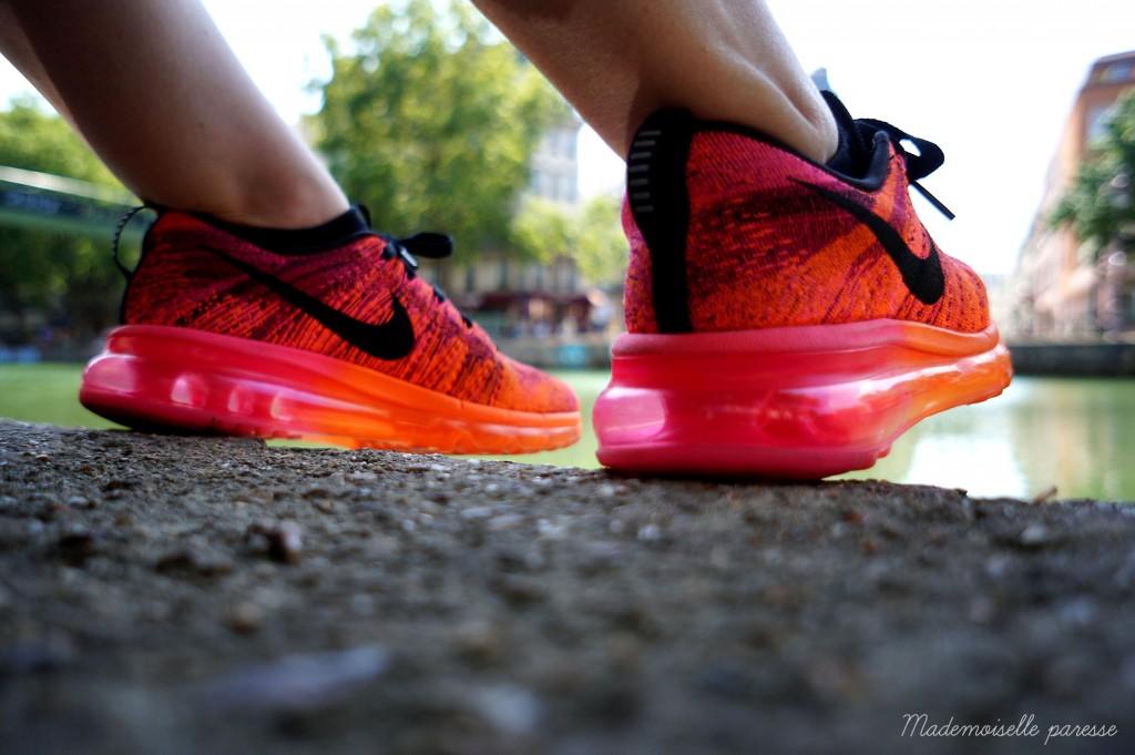 Mademoiselle paresse - Nike Flyknit Airmax 5