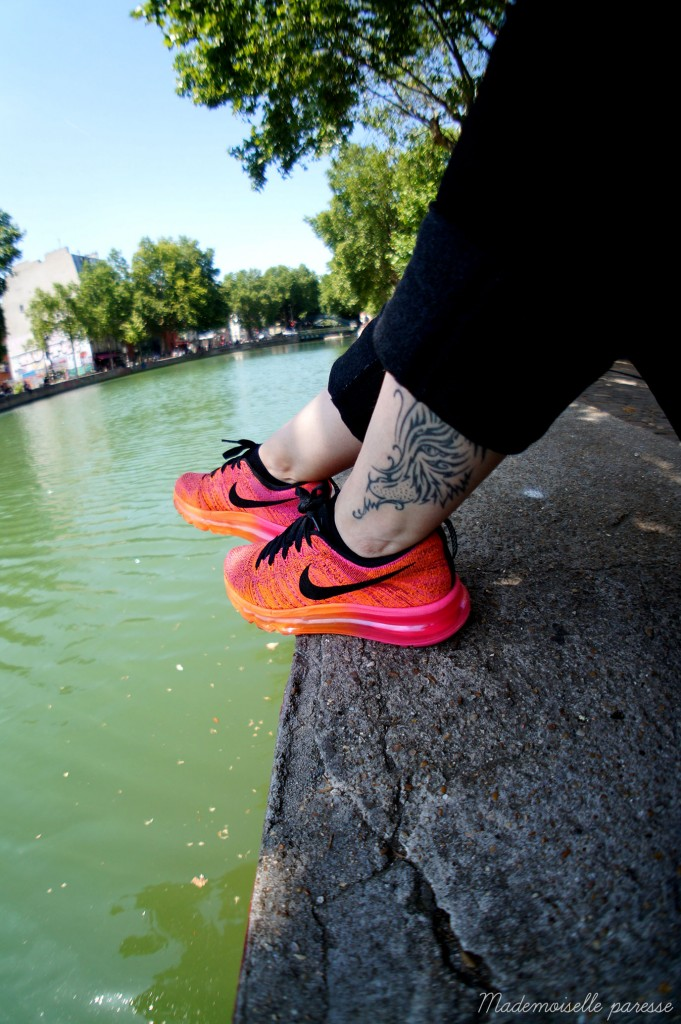 Mademoiselle paresse - Nike Flyknit Airmax 6