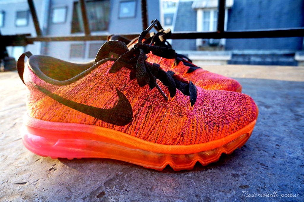 Mademoiselle paresse - Nike Flyknit Airmax 7