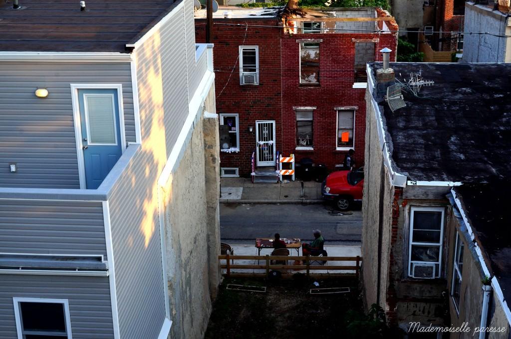 Mademoiselle paresse Philadelphie rooftop 1