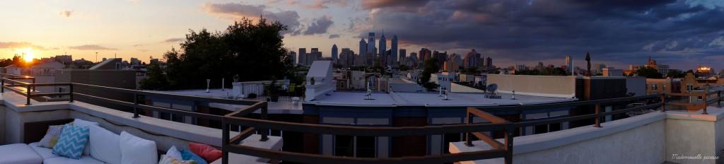 Mademoiselle paresse Philadelphie rooftop 3