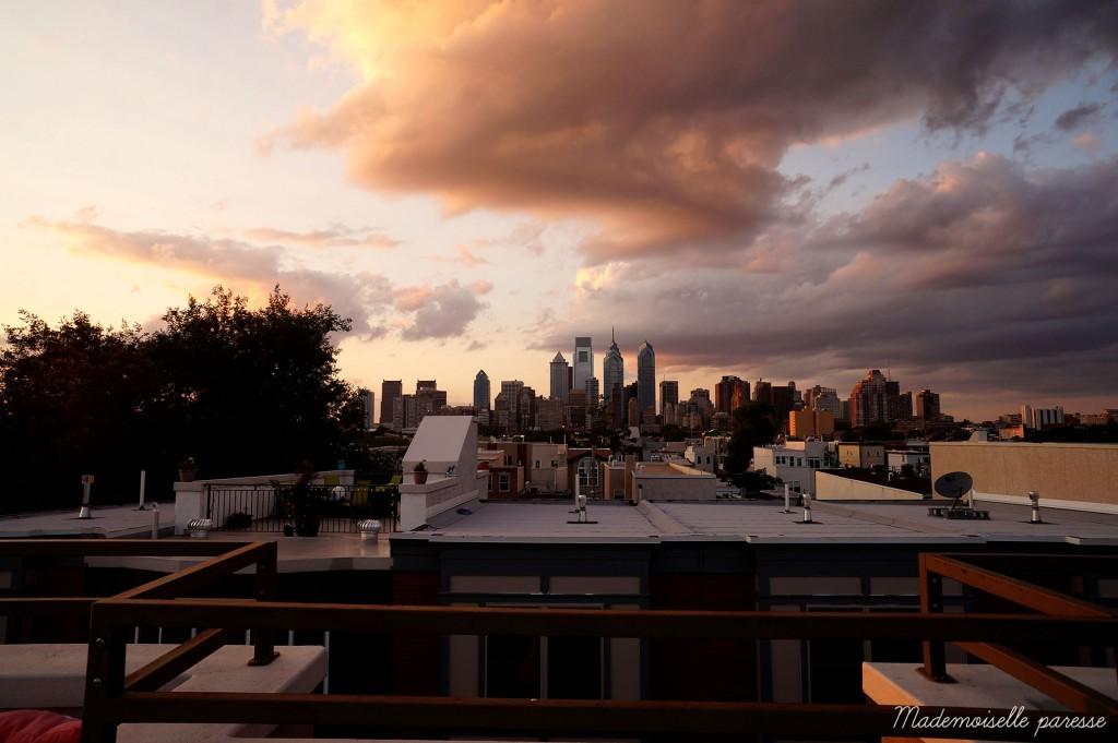 Mademoiselle paresse Philadelphie rooftop 4