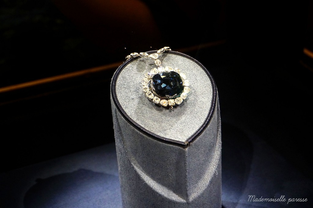 Mademoiselle paresse Washington Hope diamond