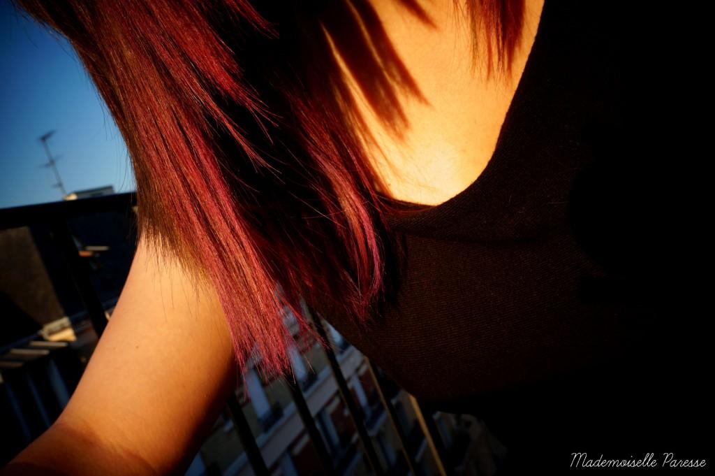 Mademoiselle paresse pink hair 7