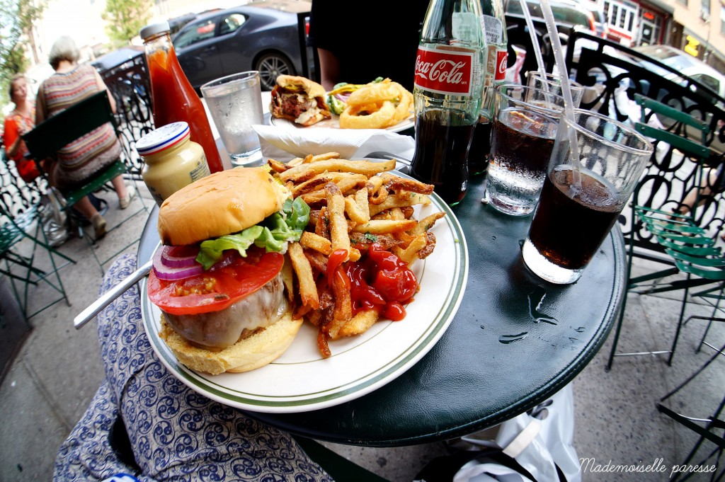 Mademoiselle paresse - Dumont Brooklyn burger