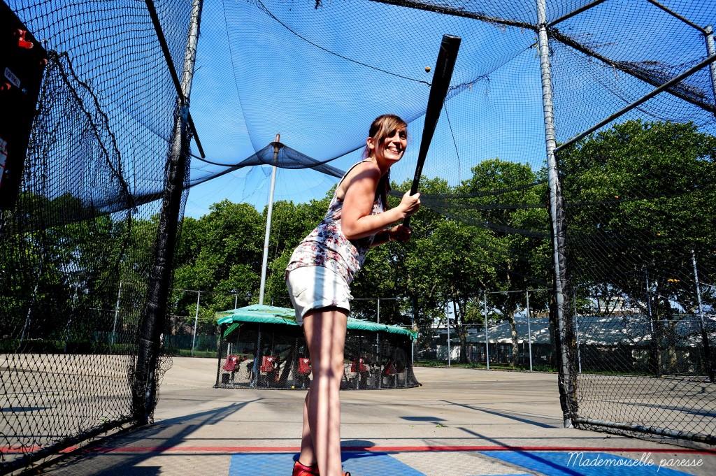 Mademoiselle paresse NYC batting center 1