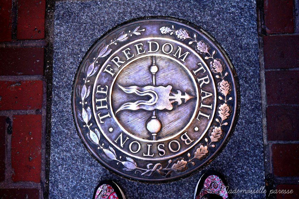 Mademoiselle paresse - Boston freedom trail
