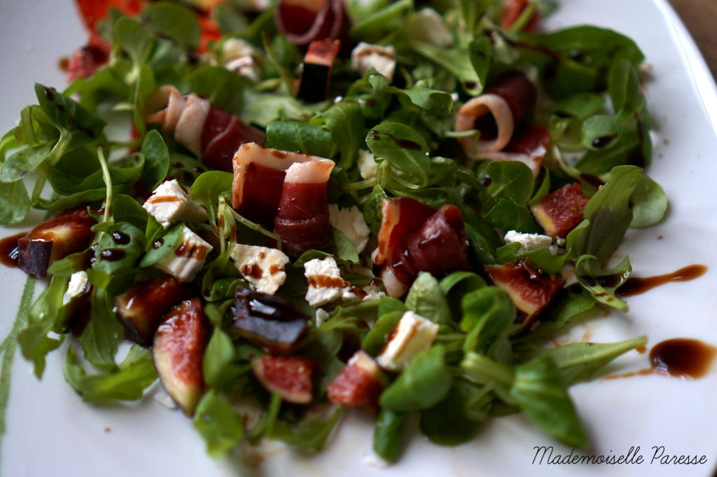 mademoiselle-paresse-recette-cuisine-salade-figue-chevre-canard