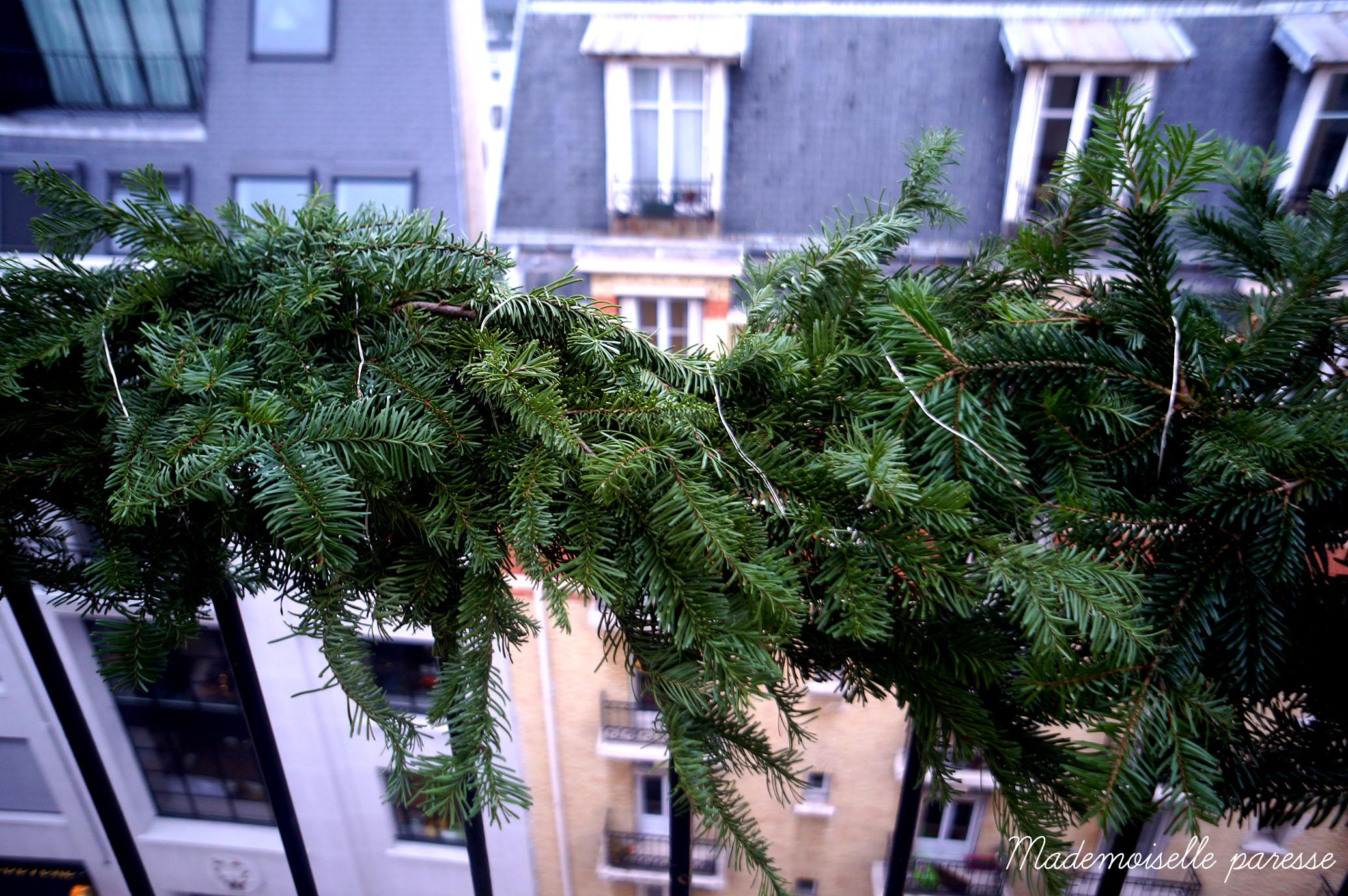 Decoration Balcon De Noel.Noel Au Balcon Mademoiselle Paresse